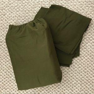 NWOT King size sheet set! Olive green- BRAND NEW